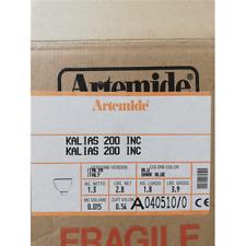 ARTEMIDE A040510 KALIAS 200 PARETE/PLAF.E27 1X70W ALOG. VETRO BLU