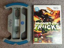 PACK Monster Trucks + volant jeu Nintendo WII WII U WIIU PAL Fr Nl En..