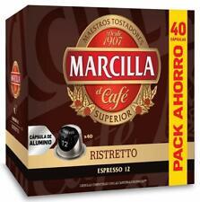 Marcilla Nespresso Ristretto 200 Capsulas Aluminio Formato AHORRO