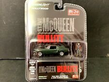 Greenlight Ford Mustang 1967 Steve McQueen with Figure 51207 1/64