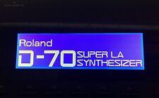 Roland W-30 A-50 A-80 D-70 JW-50 E-96 G-600 G-800 RA-800 visualizzazione grafica!