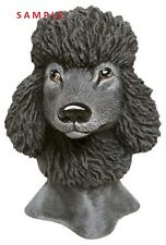 Poodle Dog Bust ready to Paint Ceramic Bisque animal Head