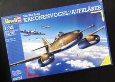 ~ Special ~ Revell 1/32 Me-262 A-1a 'Kanonenvogel' / Aufklärer *Luftwaffe #04757