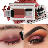Women Makeup 3 Seconds Eyeshadow Makeup Double Layer Coloured Cosmetic Brush