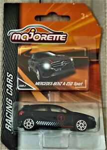 2017 MAJORETTE RACING CARS - MERCEDES BENZ A-250 SPORT - NEW ON CARD - #2320-2