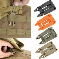 Rucksack Molle Strap Bag Gurtband Outdoor Camp Verbindungsschnalle Clip Hot