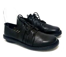 TRIPPEN WHIRL BLACK SOFT LEATHER WOMENS OXFORD LACE UP SHOE SIZE 41
