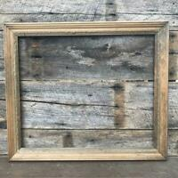 """Vintage Rope Border Wood Picture Frame for ~ 19-1/2""""x23-1/2"""""""