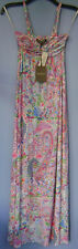 Women's Tommy Bahama Paisley Summer Strapless Stretch Casual Long Dress XXXS