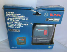 Bosch Gpl3R 3-Point Self Leveling Alignment Laser