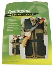 New Padded Remington Youth Shooting Vest Right/Left Hand Cool Mesh Green and Tan