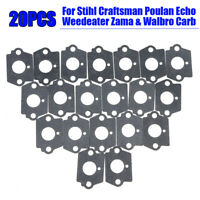 Carburetor Gaskets Motorcycle For Stihl Craftsman Poulan Zama Walbro Durable