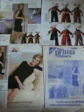 Prima dress sewing pattern MAGAZINE extrait