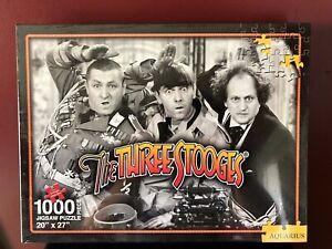 The Three Stooges 2007 Aquarius 1000 Pc. Puzzle NEW SEALED