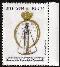 Il Brasile MNH 2004 il centesimo anniversario della incoronazione della nostra signora