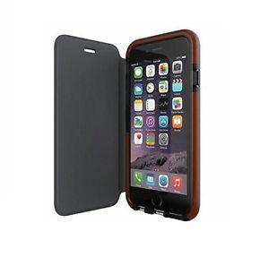 Genuine Tech21 classic wallet flip book case cover apple iphone 6 6s 7 8 SE 2020