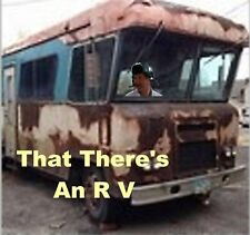 """Vacation Cousin Eddy """"That There's An RV"""" Refrigerator Magnet"""