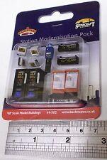Bachmann 00 Scenecraft 44-502 - Station Modernisation Pack - New (00)
