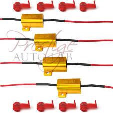 4x 25W 6ohm High Power Load Resistor LED Bulb Turn Signal Blinker Flash Flicker