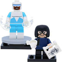 LEGO Disney Series 2 Minifigures Edna Mode and Frozone ( The Incredibles ) Mi...