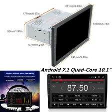 "10.1"" Single 1 DIN HD Car Android 7.1 Stereo Radio No-DVD Player WIFI 3G/4G GPS"