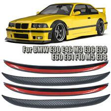 For BMW E30 E36 E46 E90 M3 M4 M5 Fender Flares Wheel Eyebrow Arch Protector Lip