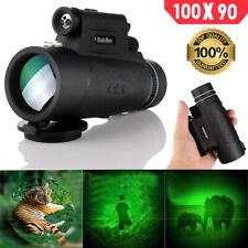 Powerful Military Monocular Long Range 8000m Telescope for Smartphone 100X90 Spy