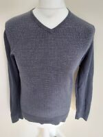 Mens Tommy Hilfiger Jumper Sweatshirt Small Blue 40 Chest sweater top pullover