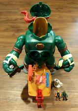 TMNT Teenage Mutant Ninja Turtles Micro Mutants RAPH'S TRAIN AND BATTLE Playset