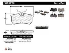 Disc Brake Pad Set-Disc Rear Stoptech 309.08860