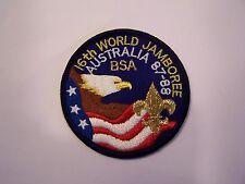 1987 World Jamboree BSA Contingent Pocket Patch