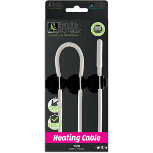 Reptile Systems Heat Cable - for gecko vivariums, spider and hatchling racks