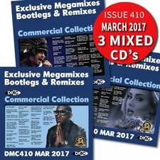 DMC Commercial Collection 410 Club Hits Mixes & Two Trackers DJ Triple Music CD
