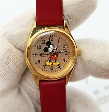 MICKEY MOUSE, Disney,  RED Band, Cool, Mint! Unisex/Kids WATCH, 825 L@@K!!