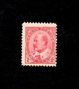 CANADA, Scott# 90, 2c Edward VII,, 1903-8 MNH (SEE PHOTO)
