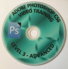 ADOBE PHOTOSHOP CS6 VIDEO TRAINING COLLECTION ADVANCED LEVEL ON DVD