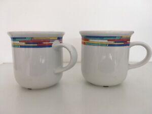 Arzberg-  Daily Rainbow - 2  Kaffeetassen / Kaffeebecher  -