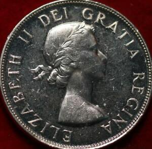 Uncirculated 1953 Canada Silver One Dollar Foreign Coin