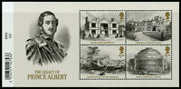 GB 2019 MNH Queen Victoria Prince Albert 4v M/S Architecture Royalty Stamps