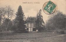 CHERISY le château éd prime timbrée 1913
