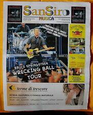 SAN SIRO MUSICA magazine Bruce Springsteen ps 2012 # 39 RARO !
