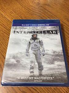 Interstellar (Blu-ray/DVD, 2015, 2-Disc Set, Includes Digital Copy UltraViolet)