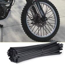 72x Motorrad Speichen Cover Tubes Überzug Wheel Spoke Cover Rim Wraps Skins 24cm
