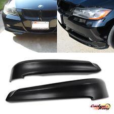 BMW E90 3-Series Sedan OE Front Bumper Lip Spoiler Splitter PP 06-08 325i 328i