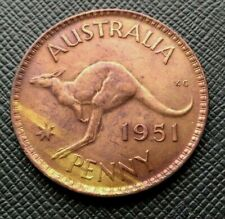 Australie Penny 1951 George VI      [2208]