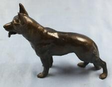 deutscher schäferhund shepherd bronze dog hund dogge bronce