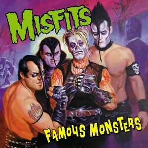 MISFITS Famous Monsters BANNER HUGE 4X4 Ft Fabric Poster Tapestry Flag Print art