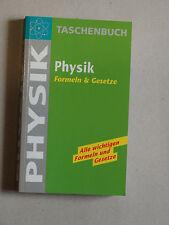 Taschenbuch Physik, Formeln und Gesetze