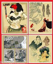 LIMAN Sketchbook Comix Buro Attakus Artbook Pin Up sexy Dessin # NEUF # Signé