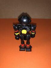 Kidco Mini Silver Warrior BLACK Robot Action Figure 1979 Loose